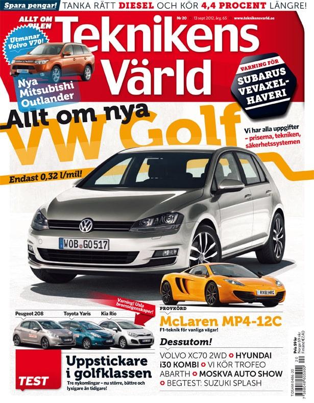 Teknikens Värld nummer 20 / 2012