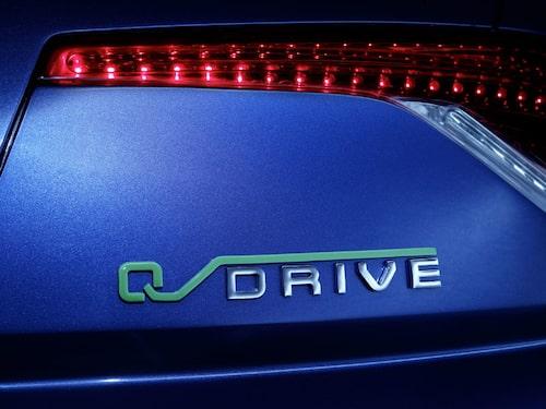 Q-Drive heter hybridsystemet.
