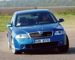 Provkörning av Skoda Octavia RS