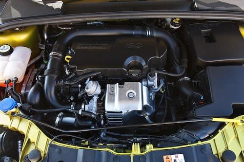 Fords enlitersmotor sägs rymmas stående på ett A4-papper.
