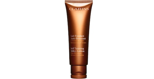 Recension på Self tan milky-lotion från Clarins.