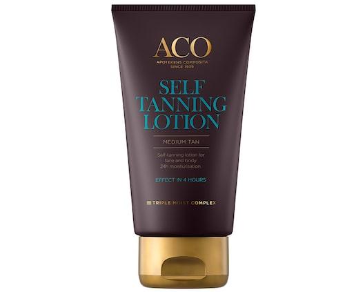 Recension av Self-tanning lotion, 150 ml, Aco.