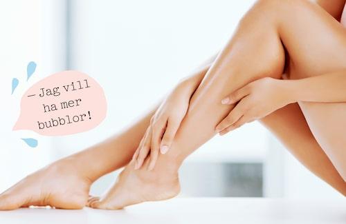 Tips! Passa på att ge kroppen lite massage medan du smörjer in dig, då kommer blodcirkulationen igång!