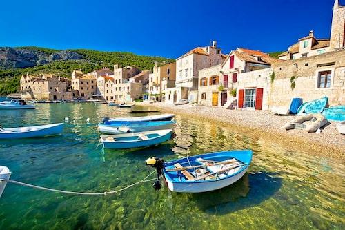 Kroatiska ön Vis