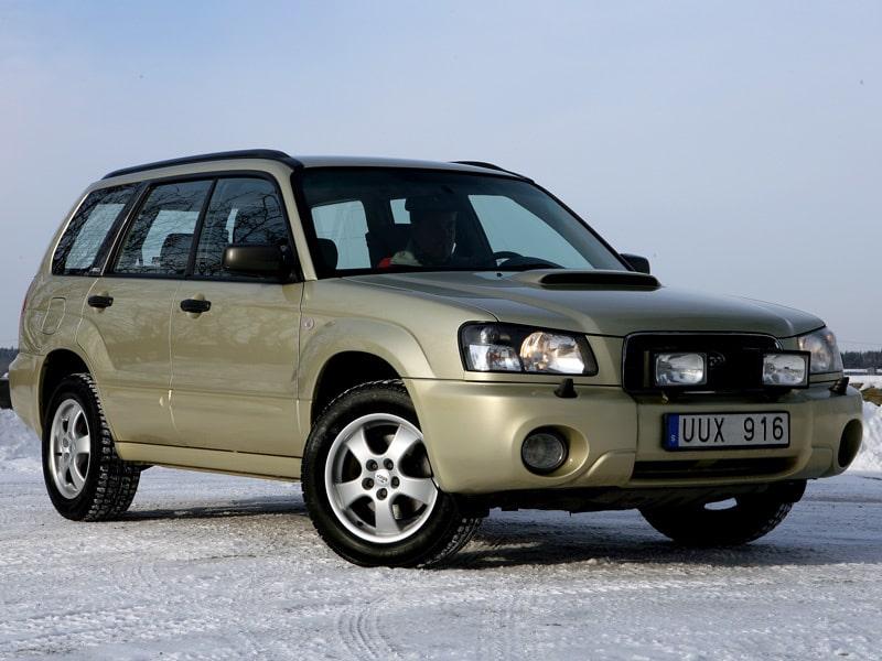 Subaru Forester generation 1 (eller generation 2 om man räknar in faceliften 2001/2002).