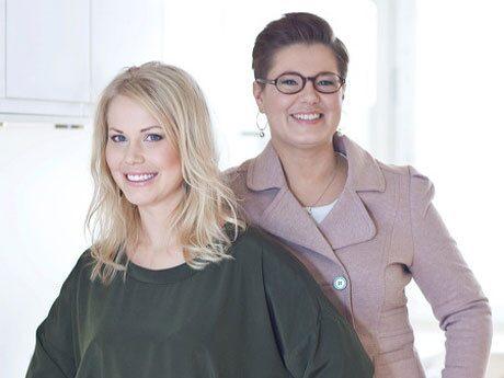 Hanna E Lindberg och Pia Bendel.