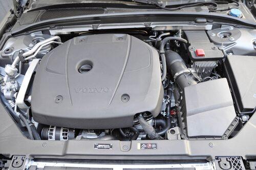 Enda motoralternativet, bensindriven 2,0-liters VEA Drive-E.