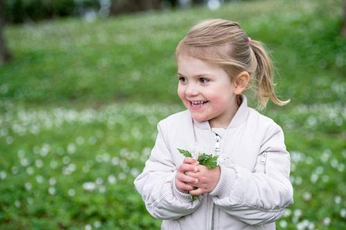 Prinsessan Estelle blir fem år gammal. Foto: Kungahuset