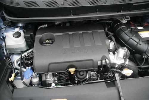 Hyundai iX20 imponerar inte på motorsidan. Dieseln är både trött och alldeles för ljudlig.