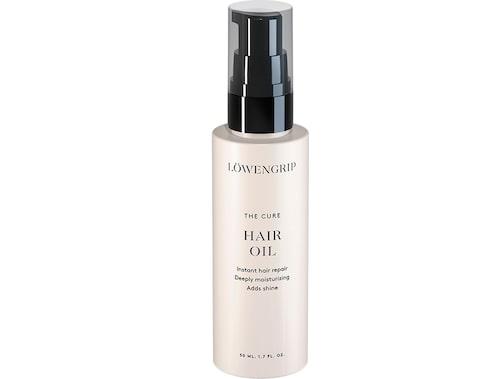 The cure hair oil, Löwengrip.