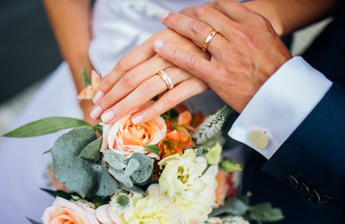 Mattias och Cecilias bröllop på Rådmansö
