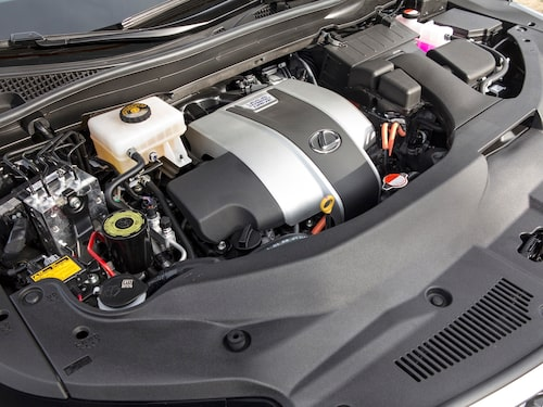 Lexus Hybrid Drive System, mest effektivt i stadstrafik med många start/stopp.