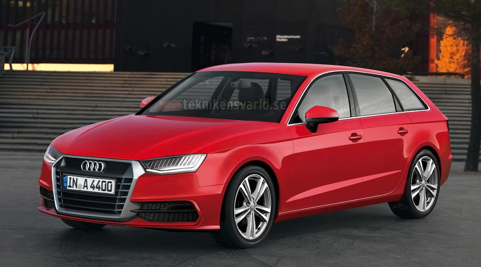 Nya Audi A4