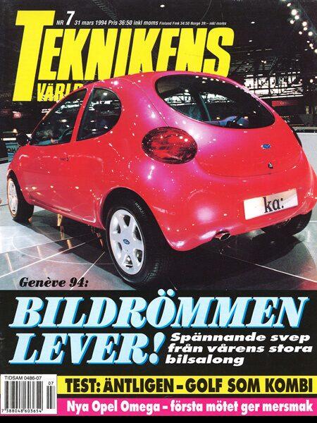 Teknikens Värld nummer 7 / 1994