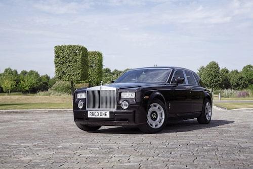 Den första tillverkade Rolls-Royce Phantom VII