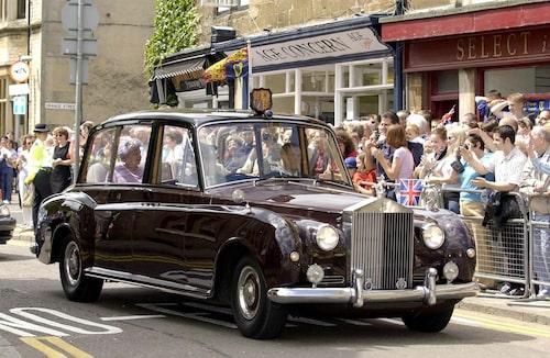 Drottning Elizabeth II:s Rolls-Royce Phantom VI