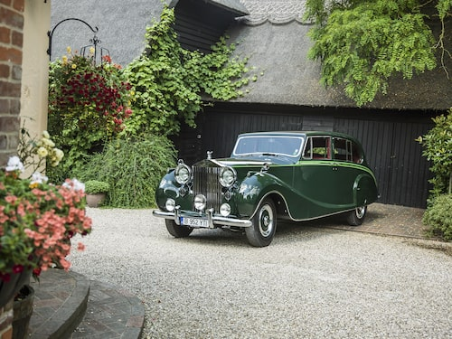 Sir Aga Khan III:s Rolls-Royce Phantom IV