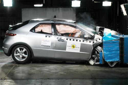 Honda Civic - 4 stjärnor