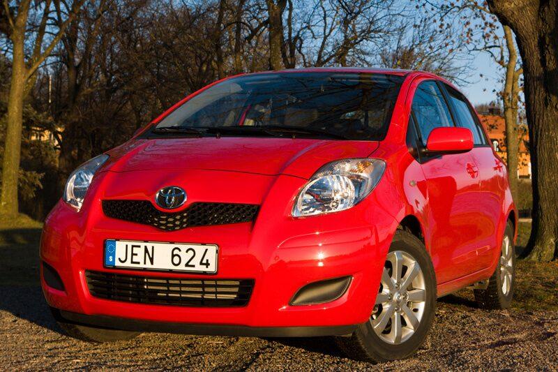 Provkörning av Toyota Yaris 1,33 VVT-i 5d