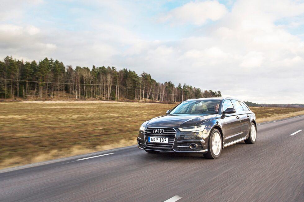 När Audi A6 uppdaterades 2014 blev resultatet detta.