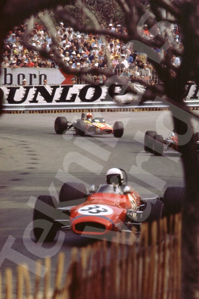 Bild 4. Formel 3 i Rouen 1969. Mått 35 x 50 cm.