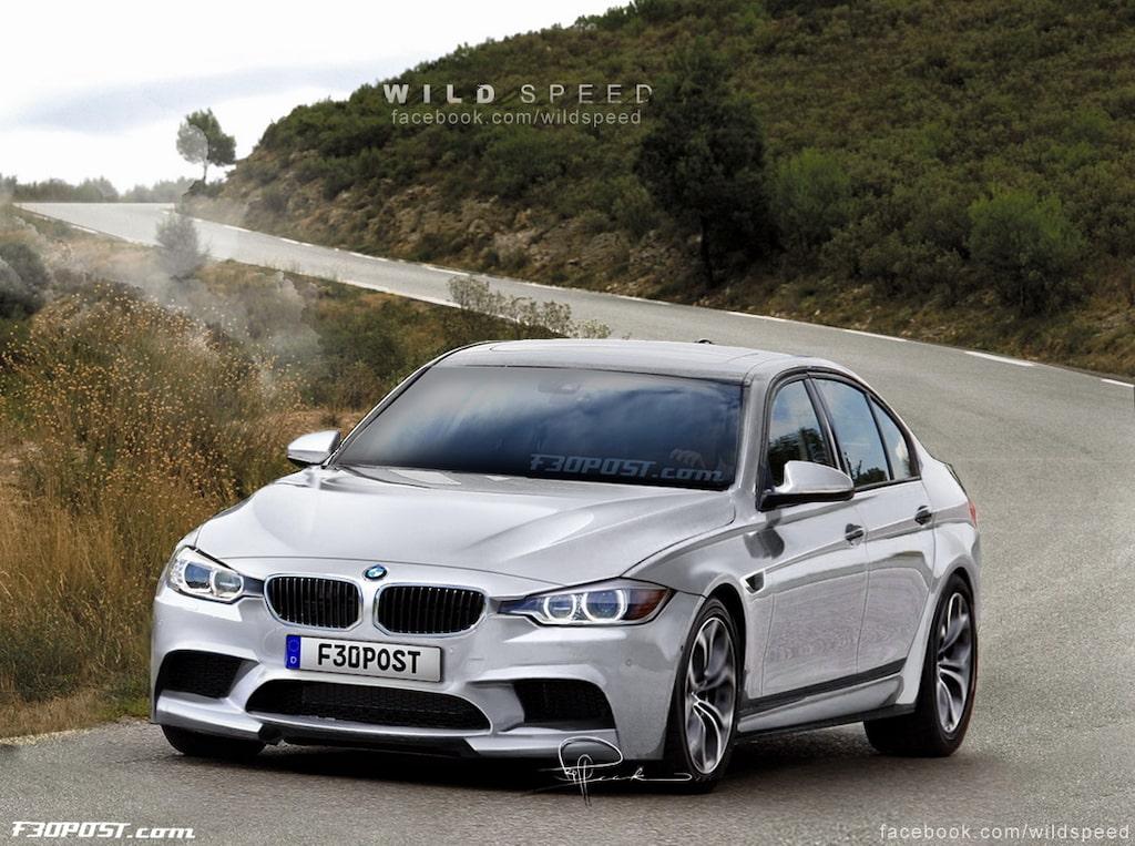 Nya BMW M3 Sedan i Alpine White Metallic