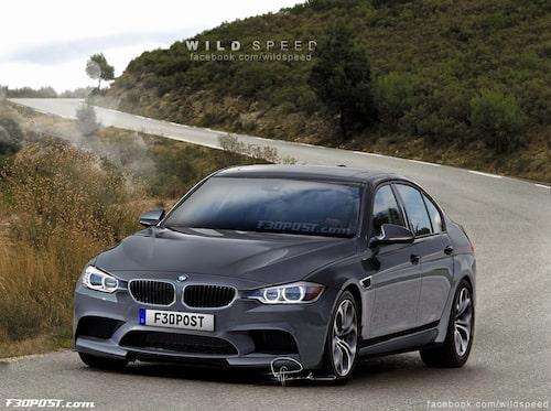 Nya BMW M3 Sedan i Space Grey Metallic