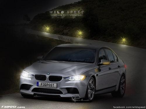 Nya BMW M3 Sedan i Silverstone Silver Metallic