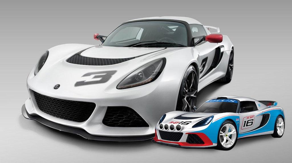 Lotus Exige S och R-GT