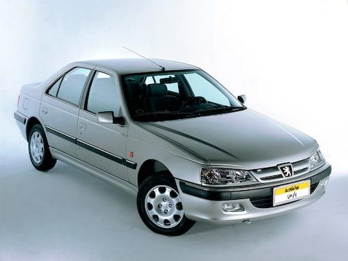 Peugeot Pars, mer känd som 405, ritades av Pininfarina.