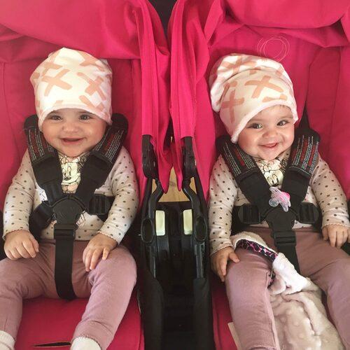 Caitlyn och Melanie är idag sex månader. Foto: Privat