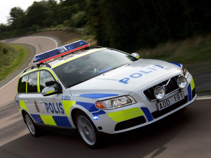 Volvo V70 D5 Polisbil