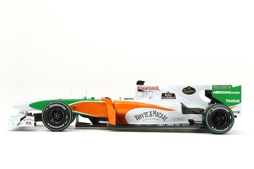 Force India F1 Team VJM03 (Mercedes) Förare: Adrian Sutil, Vitantonio Liuzzi.