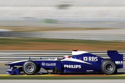 AT&T Williams FW32 (Cosworth). Förare: Rubens Barrichello, Nico Hulkenberg.