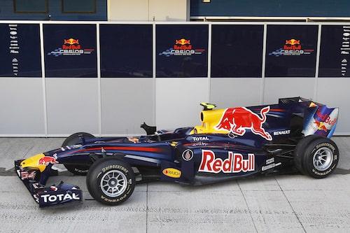 Red Bull Racing RB6 (Renault) Förare: Sebastian Vettel, Mark Webber.