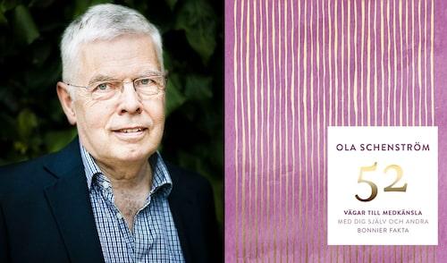 Ola Schenström är läkare och Sveriges ledande expert på mindfulness. I hans bok 52 vägar till medkänsla finns bra övningar för dig som behöver bli snällare mot dig själv.