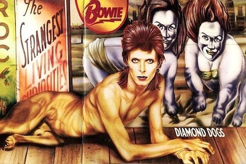 """Albumet """"Diamond Dogs"""" fick Roland att upptäcka David Bowie."""