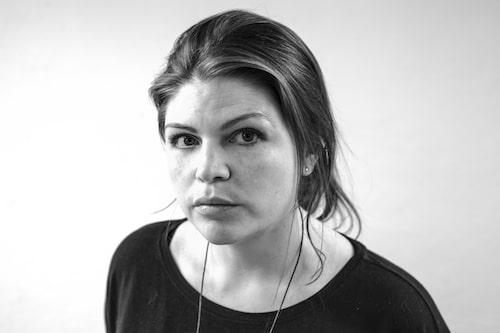 Kela Ahnhem är talesperson på Födelsevrålet. Foto: Dominique Hernandez