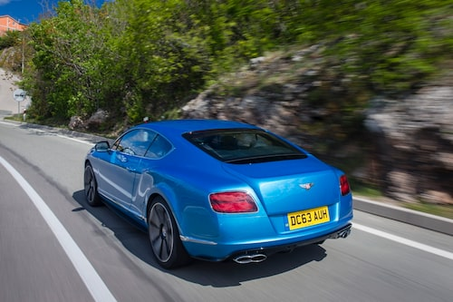 Det är detaljerna som gör det. GT V8 S är pyntad efter alla konstens regler.