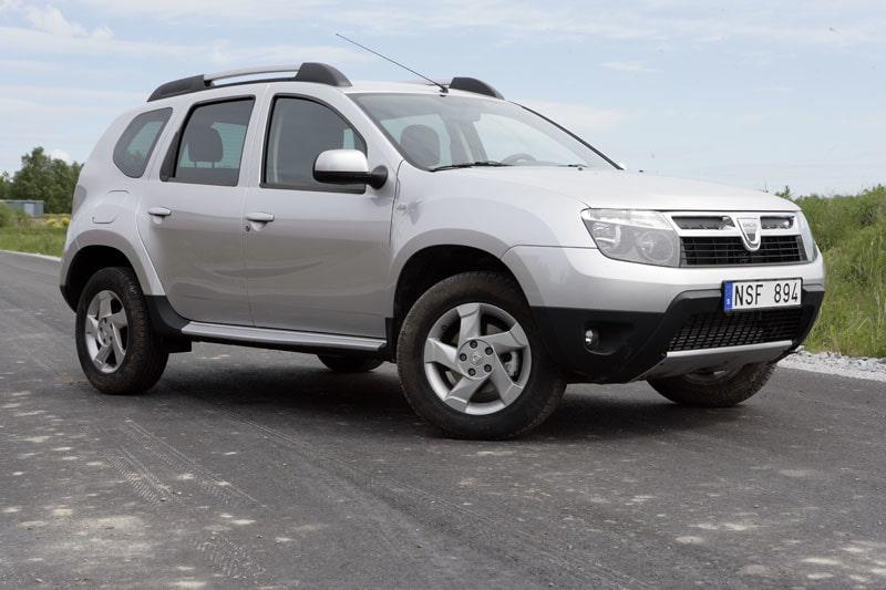 Provkörning av Dacia Duster dCi 110 4x4