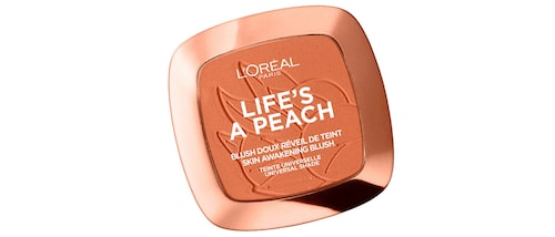 Recension på Life's a peach blusher i nyans Peach addict, 9 g, L'oréal Paris.