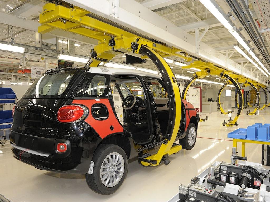 Fiat 500L tillverkas i FCA-fabriken i serbiska Kragujevac