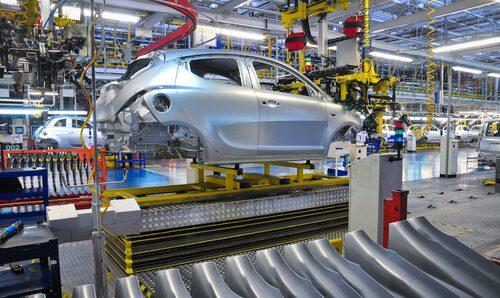 Lancia Ypsilon tillverkas i FCA-fabriken i polska Tichy