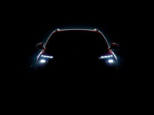 Teaserbild på bilen som ska visas upp under årets Genèvesalong.
