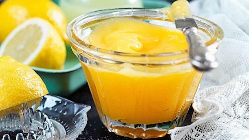 Recept på lemoncurd