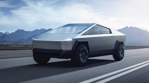 Teslas kommande pickup Cybertruck är även den försenad.
