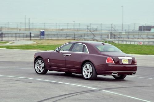 Inte var dag Rolls-Royce körs på bana. Här är det Circuit of the Americas i Texas som får finbesök.