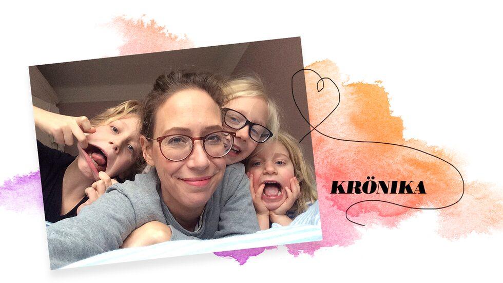Sara Tuncel är chefredaktör för Vi Föräldrar och mamma till Eskil, 15, Elsie, 12, och Julie, 9.