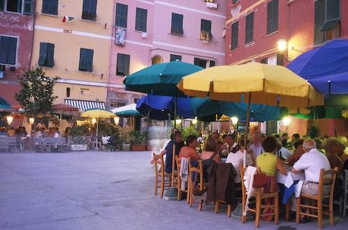 Restaurangen Puny i Portofino.