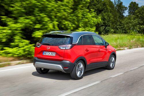 """Opel Crossland X har fått ärva det """"flytande taket"""" från lillebror Adam. Vad säger du?"""